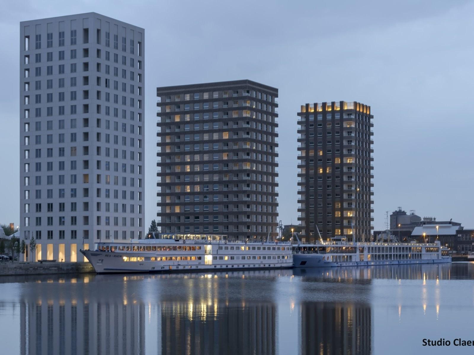 Toren 5 -6 Westkaai Kattendijkdok te Antwerpen