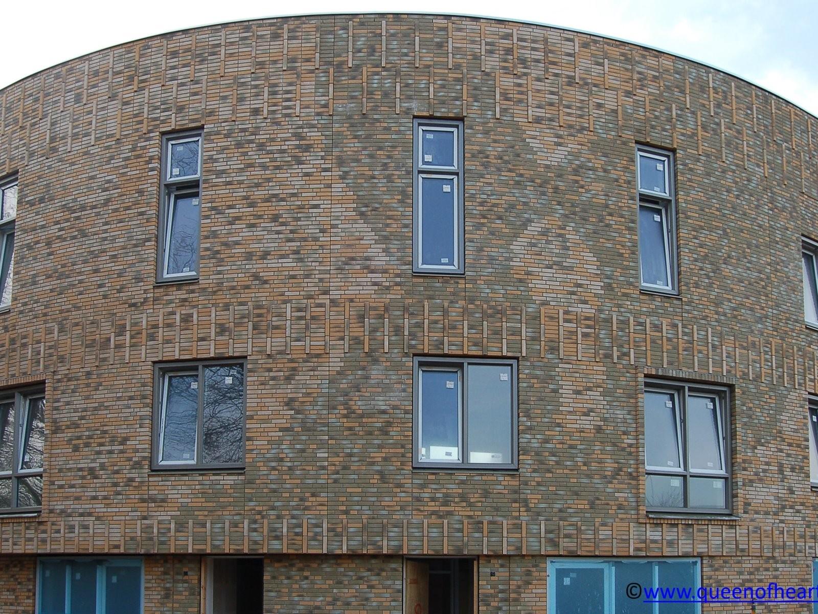 Speciale projectstenen voor appartementen - Italiëlaan - Haarlem